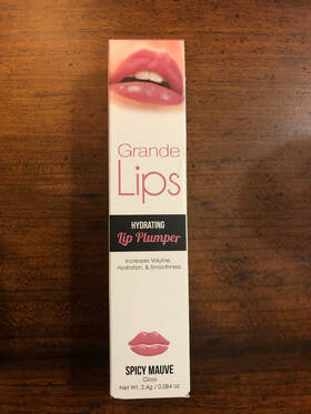 Grande Lips Hydrating Lip Plumper Spicy Mauve